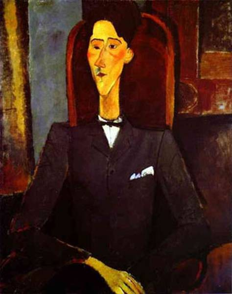 portrait of jean cocteau 1916 XX the art museum princeton university princeton nj usa